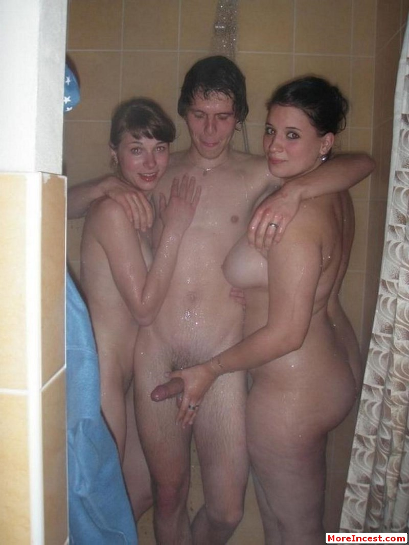 brother sister shower sex